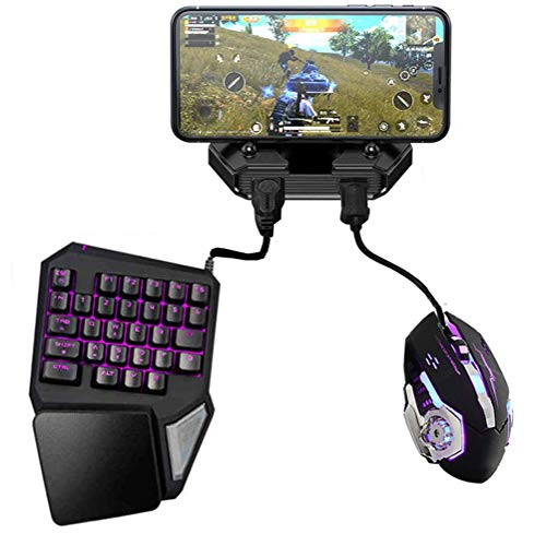 DZSF Battledock Converter Bluetooth 5.0 Gamepad Pubg Mobile Android...