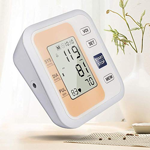 AirMood Blutdruckmessgerät Für Den Oberarm, Digitales Blutdruckmessgerät Für Den Oberarm, Verstellbare Manschette, 99 Speicherpaare, Arrhythmie-Erkennung, WHO-Blutdruckklassifizierung