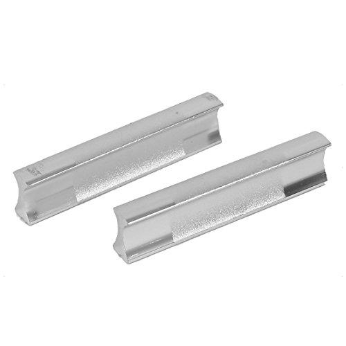 Aexit 64mm Abstand Rechteckige Zieht Schrank Kommode Schiebetür Griff Silber Ton 2 Stücke (0971c7e1900c5e8af32e73220aee1056)