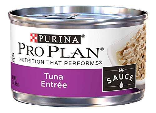 Price comparison product image Purina Pro Plan Wet Cat Food,  Tuna Entree in Sauce - (24) 3 oz. Pull-Top Cans