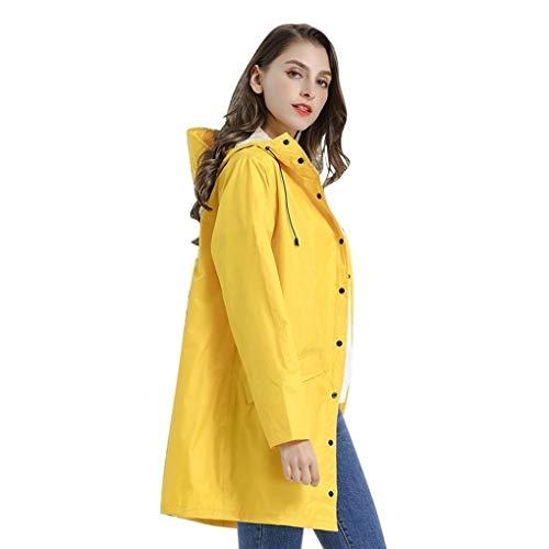 Hommes/Femmes Veste Raincoat, Long Imperméable Unique Imperméables Imperméables À l'eau, La Randonnée Adulte Portable Voyage Poncho (Size : L)