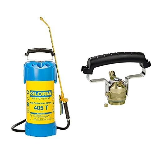 Gloria Hochleistungssprühgerät 405T mit 6 bar aus Stahl & Kompressoranschluss für Stahlgeräte Typ 000135.0000 Ölfest