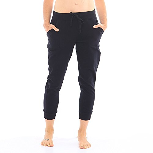 Hyde Women's Organic Cotton Chrystie Jogger Pant - Cropped Length,...