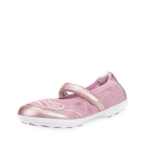 Geox Mädchen JR Jodie A Geschlossene Ballerinas, Pink, 35 EU