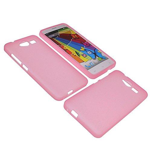 foto-kontor Tasche für Mobistel Cynus F6 Gummi TPU Schutz Handytasche pink