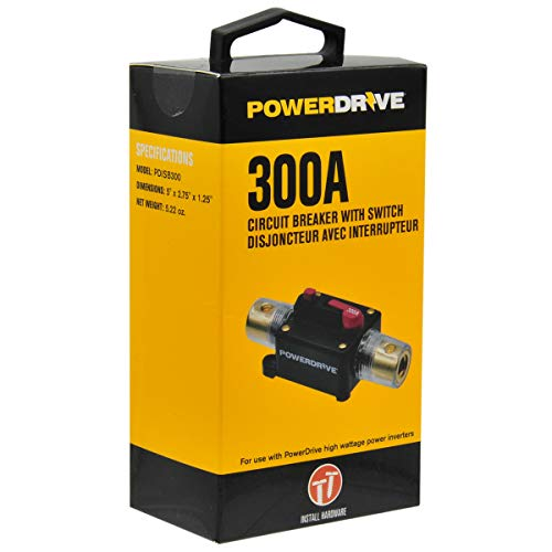 PowerDrive 300 Amp Circuit Breaker with Switch