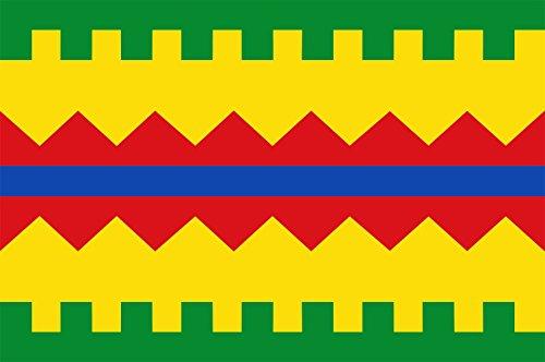 magFlags Bandera XL Aguarón, en la Provincia de Zaragoza, Aragón | Bandera Paisaje | 2.16m² | 120x180cm