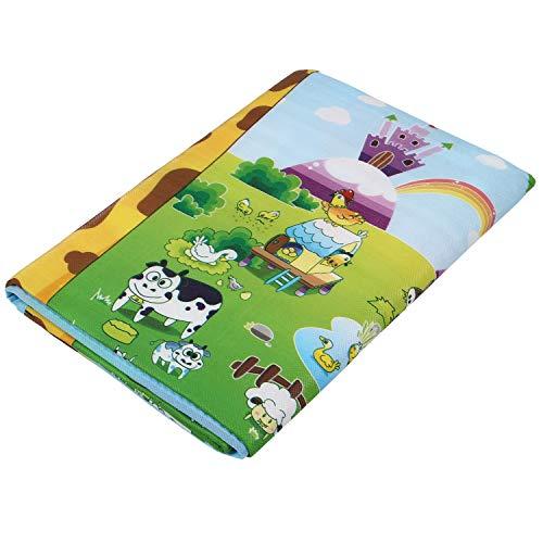 PQZATX Tapis de Couverture de Mousse de Tapis de Tapis de Jeu de Bambin de Jeu D'Enfant en Bas ?Ge de BéBé pour Des Portes D'EntréE/Sortie