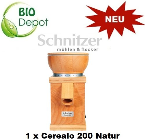 Schnitzer Getreidemühle Cerealo 200 Natur
