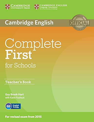 Complete First for Schools Teacher's Book [Lingua inglese]