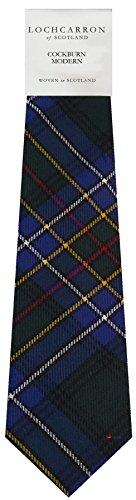 I Luv Ltd Gents Neck Tie Cockburn Modern Tartan Lightweight Scottish Clan Tie