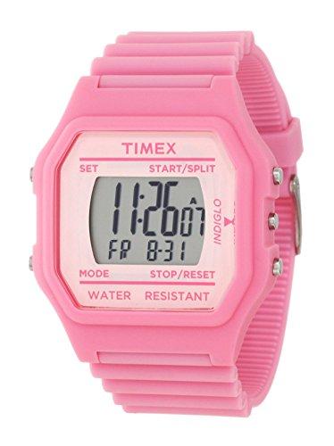 Timex Kids' Oversize Pink Venus Digital Rubber Watch