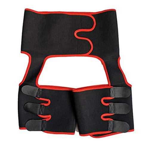 Las mujeres de la cintura Trainer 3-en-1 de la cintura del muslo del condensador de ajuste...
