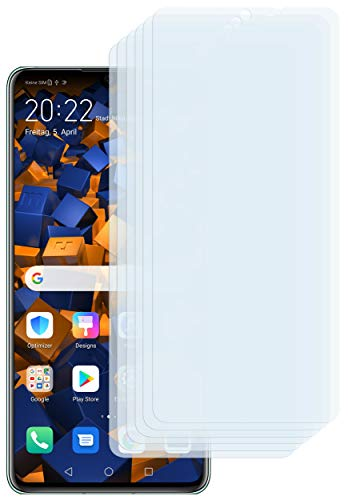 mumbi Schutzfolie kompatibel mit Huawei P30 Folie klar, Bildschirmschutzfolie (6X)