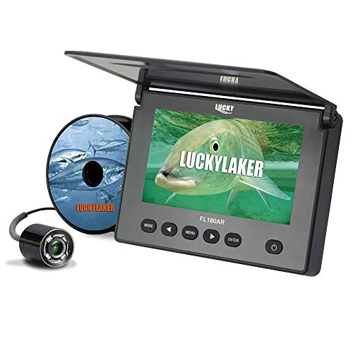 LUCKYLAKER Monitor Portable Fishing Camera Underwater Ice Fishing...