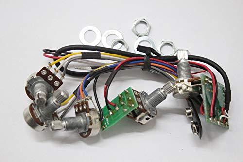Ecualizador de banda SE3 para bajo eléctrico y control de equilibrio de agudos y volumen maestro