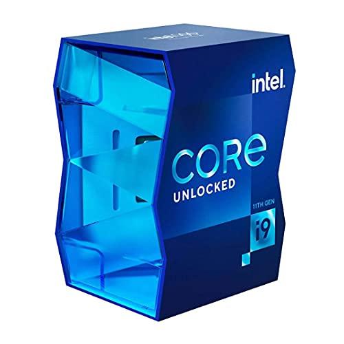 Intel Core i9-11900K - Processore desktop da 3,5 GHz Tuboost: 5,1 GHz, 8 core, LGA1200) BX8070811900K