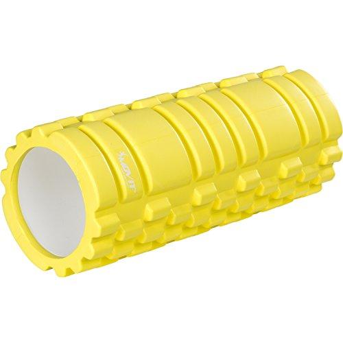 Movit Faszienrolle »Fascia«, schadstofffreie Massagerolle durch TÜV SÜD getestet, Foam-Roller für Faszien-Training durch Triggerpunkt-Selbstmassage, Limette, Größe: 33x14 cm