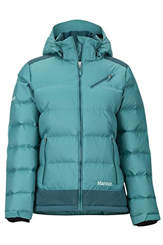 Marmot Damen 76200 Wm's Sling Shot Jacket, Patina Green/Deep Teal, M