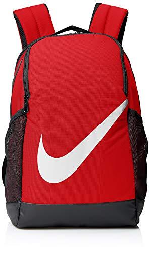 NIKE Youth Brasilia Backpack - Fall'19, University Red/Black/White, Misc