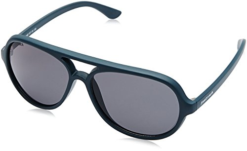 Fastrack Polarized Aviator Men's Sunglasses – (P358BU3|57|Blue Color)