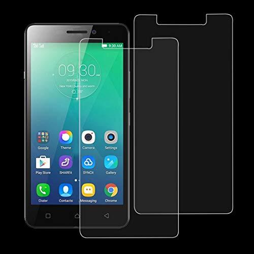 MEMEXHEVAT Bildschirmschutzfolie aus gehärtetem Glas für Lenovo Viber P1M, 9H, 2,5D, 2 Stück