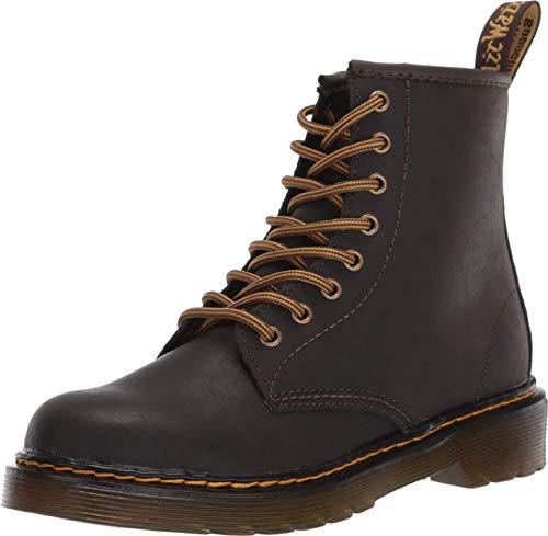 Elephantito Girl's Madison Ankle Boot Fashion, Patent Leopard, 11.5 M US Little Kid