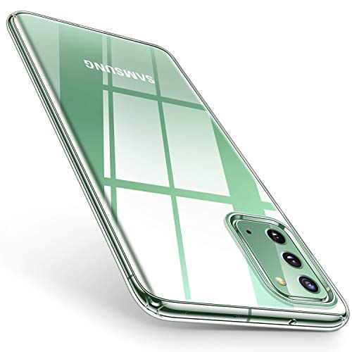 TORRAS Crystal Clear Designed for Samsung Galaxy Note 20 Case/Galaxy Note 20 5G Case 6.7 Inch, Ultra-Thin Slim Fit Soft Silicone TPU Cover Case Compatible with Samsung Galaxy Note 20 5G (2020), Clear