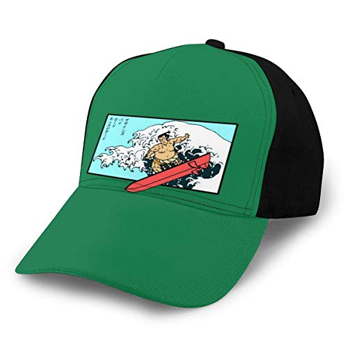 N/ Sumo Surfer! - Gorra de béisbol, color negro