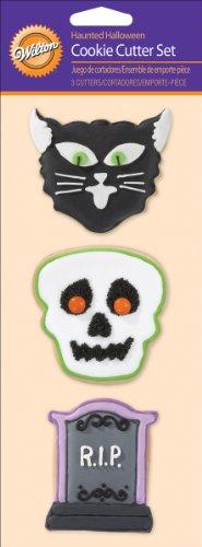Wilton Cookie Cutter Set, Haunted Halloween, 3/Pack