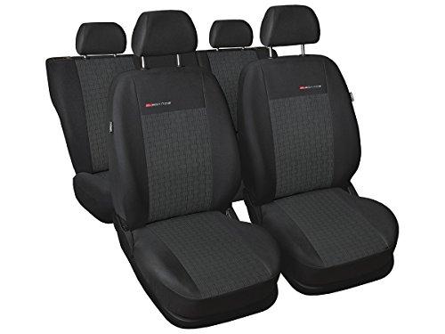 A4 B7 Sitzbezüge nach Maß perfekte Passform Schonbezüge Sitzschoner Velour + Strickpolster ®Auto-schmuck (A4 B7 p1)