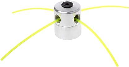 Bocotoer 4 Cabezales de desbrozadora Cabeza de Corte de Bordes de Aluminio