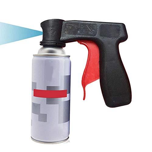 Groust Handgriff Für Spraydosen, Spraydosengriff Handgriff Für Autolack Spraydose, Sprühdose Auslöser Griff 14x11CM (ohne Sprühdose)
