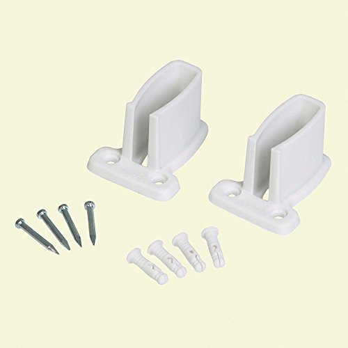 ClosetMaid Wall Bracket with Anchors and Screws, 2-Ct