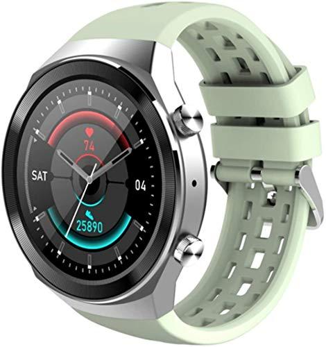 Reloj Inteligente Hombres 1.3 Pulgadas IPS Pantalla Bluetooth Pulsera Inteligente IP67 Impermeable Fitness Actividad Tracker-A