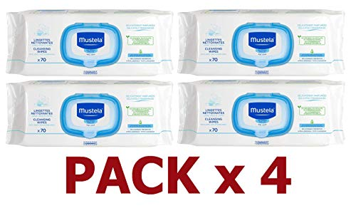 Mustela Baby Wipes - 4 Packs by EXPANSCIENCE