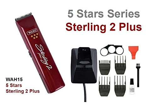 Wahl Sterling 2 Plus 5 Star - Tagliacapelli ricaricabile wireless, professionale