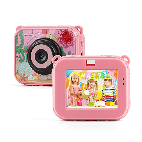 TAOCOCO 子供用 デジタルカメラ トイカメラ キッズカメラ500万画素IP68 30M防水カメラ おもちゃ 子供プ...
