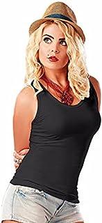 Carina Tank Top For Women - Undershirt Bold Strap - for Women