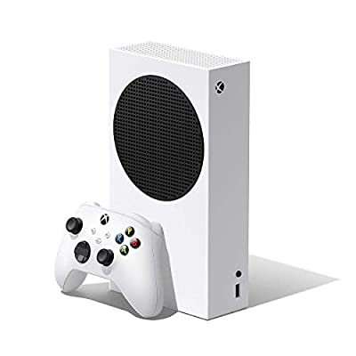 Microsoft Xbox Series S 512GB Game All-Digital Console + 1 Xbox Wireless1 Controller, White - 1440p Gaming Resolution, 4K Streaming Media Playback, WiFi by Microsoft