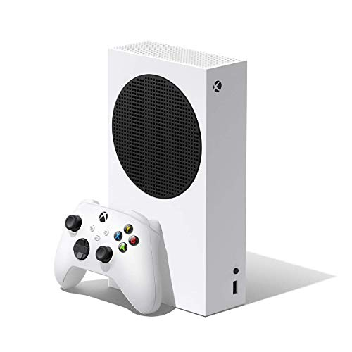 Microsoft Xbox Series S 512GB Game All-Digital Console + 1 Xbox Wireless1 Controller, White - 1440p Gaming Resolution, 4K Streaming Media Playback, WiFi