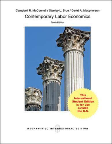 Contemporary Labor Economics (Int\'l Ed)