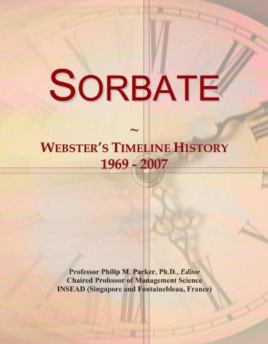 Sorbate: Webster's Timeline History, 1969 - 2007