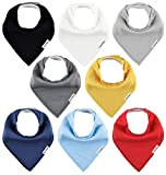 TheAZBaby Baby Bandana Drool Bibs for Boys and Girls