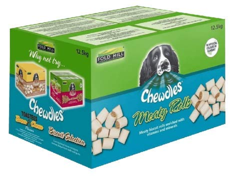 Maltbys' Stores 1904 Limited 400g Meaty Rolls With Marrowbone Flavour Dog Biscuits