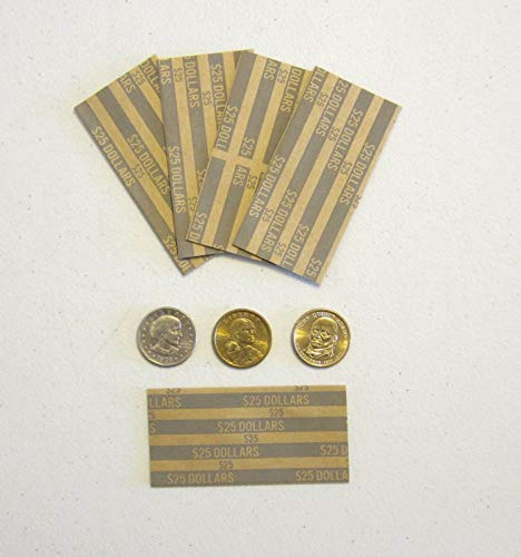 AirGarden-2000-Presidential-Dollars-Coin-Wrappers-SACAGAWEA-Dollar-Paper-Coin-Wrapper