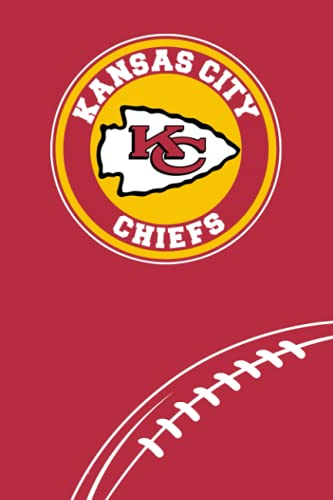 Kansas City Chiefs: Kansas City Chiefs Notebook & Journal & Composition Book & Logbook College Ruled 6x9 110 page | NFL Fan Essential | Football Fan Appreciation
