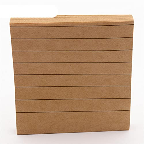 Línea horizontal 80 hojas de papel Bloc de notas Notas adhesivas Marcador Point it Marcador Memo Sticker Oficina Material...