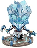 LOL League Legends Thresh The Guardian Chain Decoration Model PVC Decoration Model Gift Office Decoration Home-A Game Statue WYYHYPY (Color : A)
