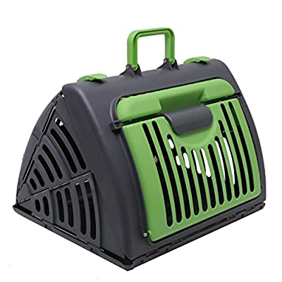 Pet Carrier Dog Puppy Kitten Rabbit Transport & Travel Cage by Raxter